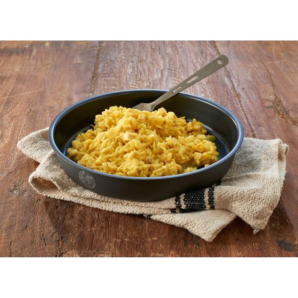 Huhn in Curryreis